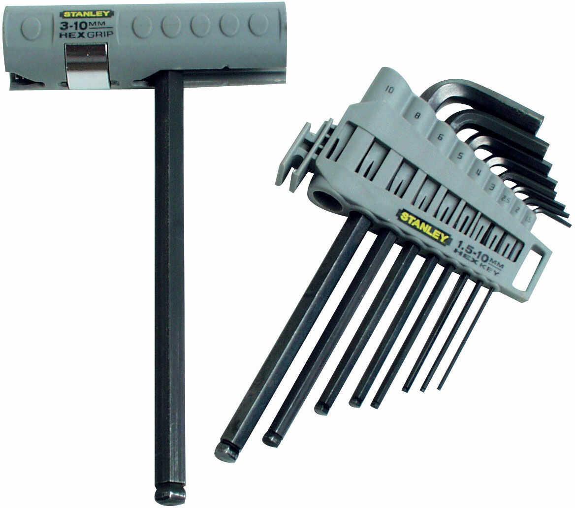 Klucz imbusowy kpl. 9 szt, 1.5-10mm-zestaw wielofunkcyjny