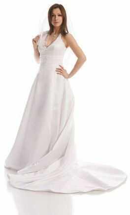 FSS501 Suknie Ślubne Suknia BIAŁY