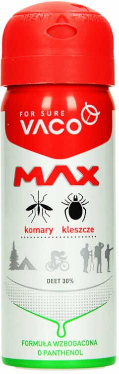 VACO Max spray na komary kleszcze meszki 30% DEET.