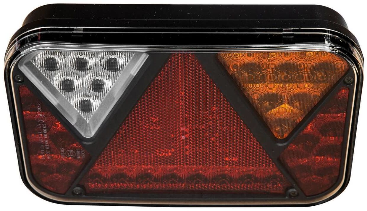 Lampa tylna LED 6-funkcyjna Fristom FT-270 lewa 12V