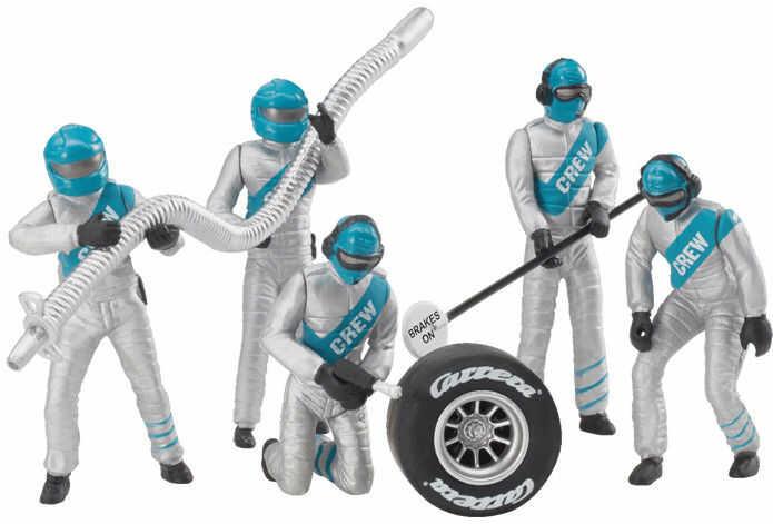 Carrera - Zestaw figur, mechanicy srebrni 21133