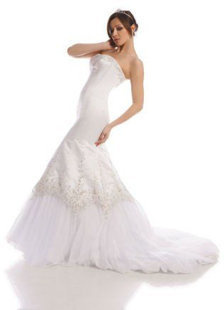 FSS503 Suknie Ślubne Suknia BIAŁY