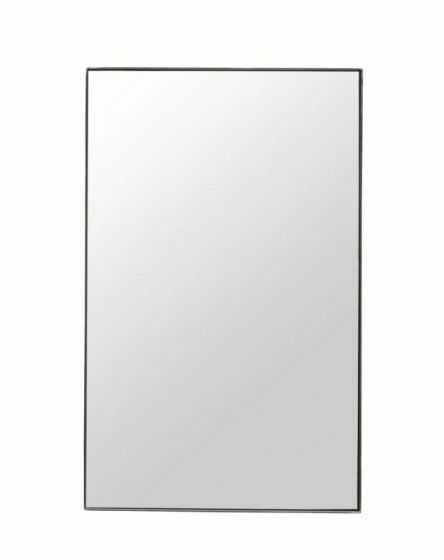 House Doctor RAW Lustro Ścienne 50x80 cm w Żelaznej Ramie - Czarne