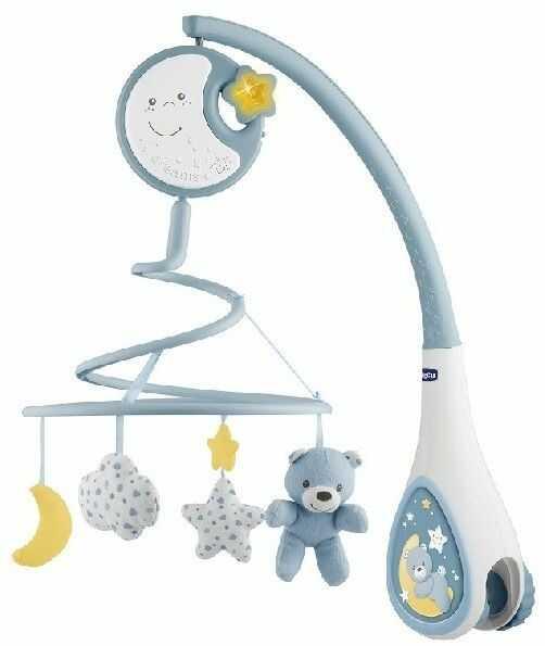 Chicco First Dreams - Karuzela na łóżeczko Next2Dreams niebieska 76272