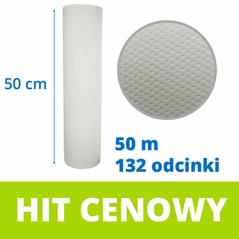 Celulozowy podkład higieniczny 50 cm x 50 m