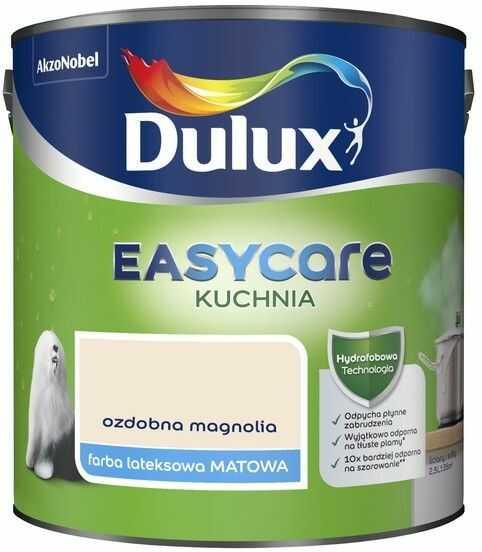 Farba Dulux EasyCare Kuchnia ozdobna magnolia 2,5 l
