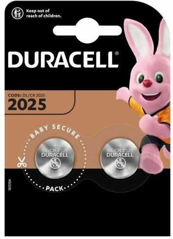 2X DURACELL CR2025 BLISTER
