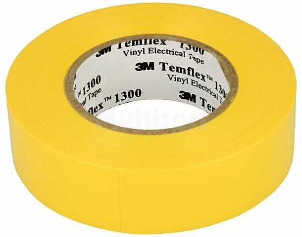 Taśma elektroizolacyjna 3M 19mm L:20m D:0,13mm 125% max.90 C