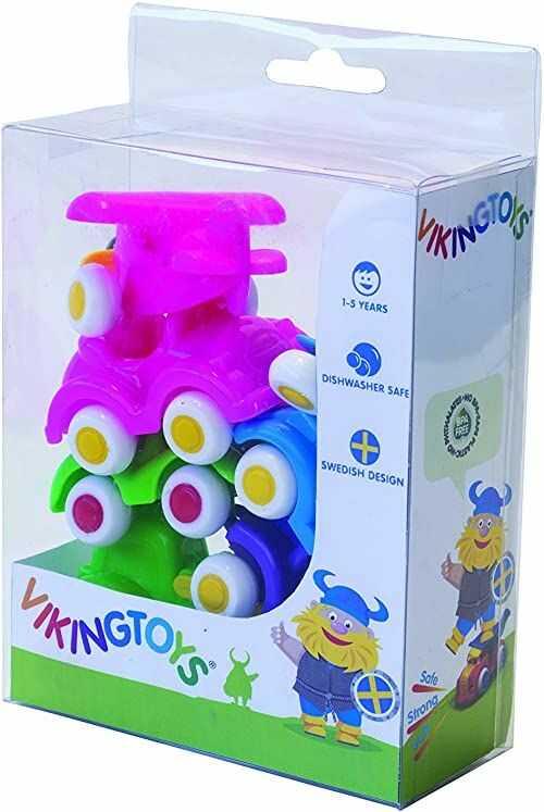 Wiking Toys 74-8112-90 Mini pulchne dziecko, wielokolorowe