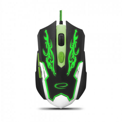 EGM405 Esperanza mysz przewod. gaming led 6d opt. usb cyborg