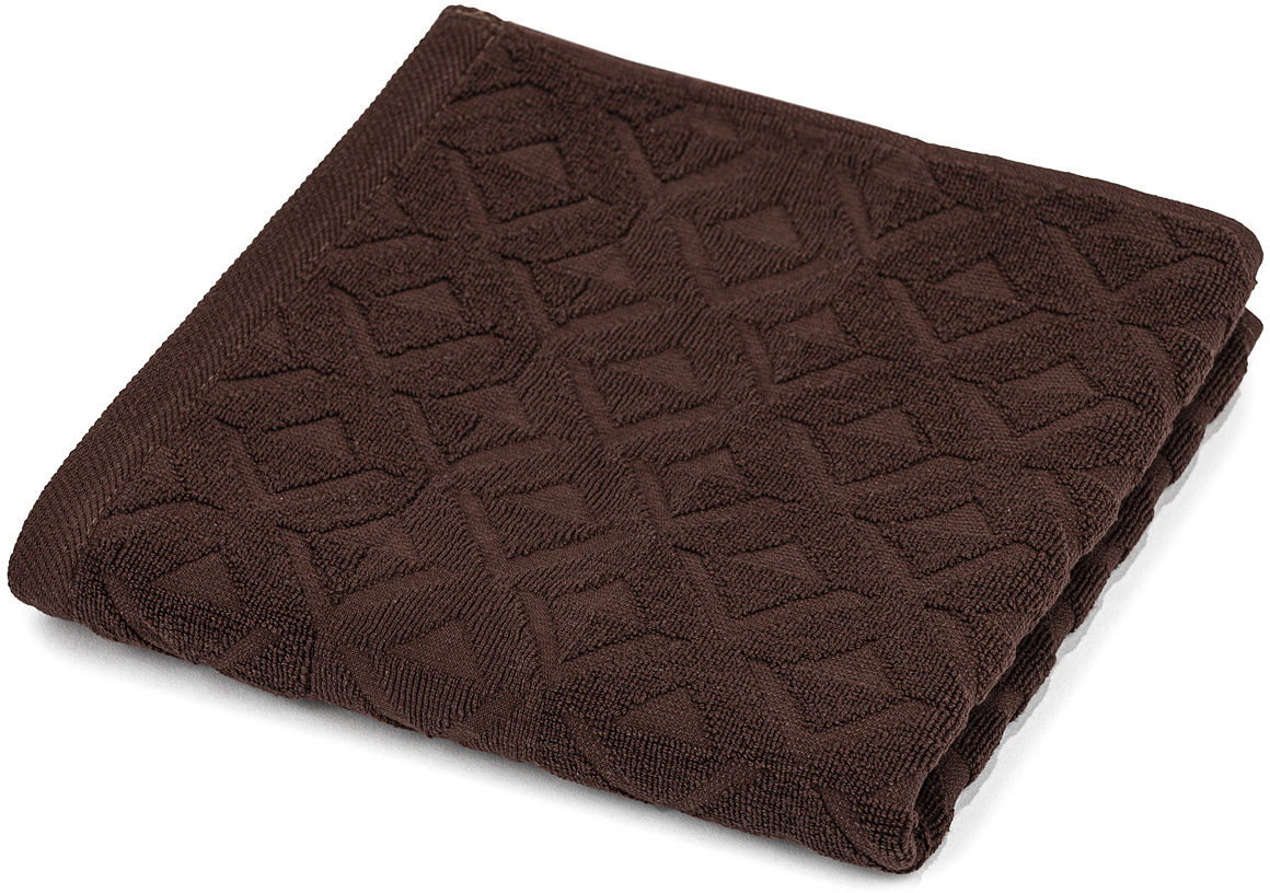 Ręcznik kąpielowy Rio ciemnobrązowy 70 x 140 cm