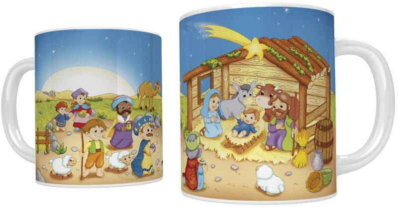 Kubek bożonarodzeniowy Przybieżeli do Betlejem