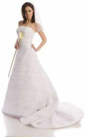 FSS508 Suknie Ślubne Suknia BIAŁY