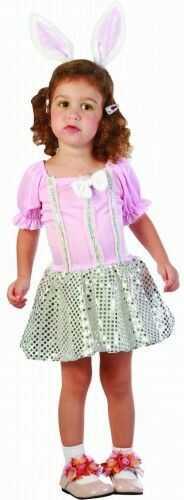 Kostium Mały Różowy Króliczek w cekinach