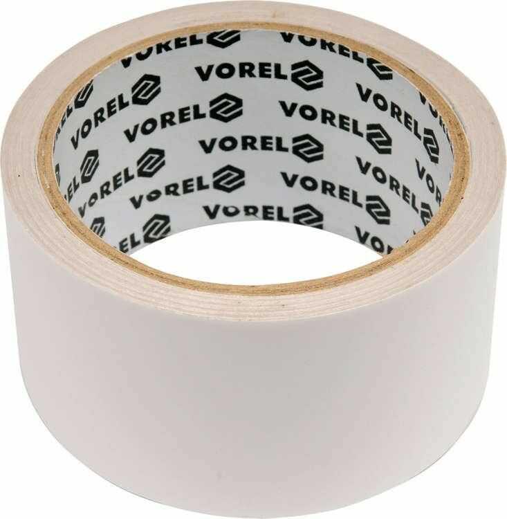 Taśma dwustronna na folii pp 50 mm x 5 m Vorel 75245 - ZYSKAJ RABAT 30 ZŁ