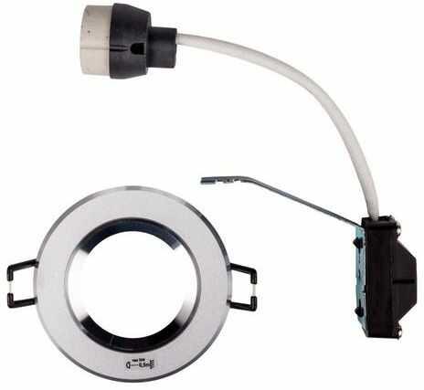 Oprawa punktowa 1x50W GU10 IP20 TESON AL-DSO50 okrągła aluminium 07372