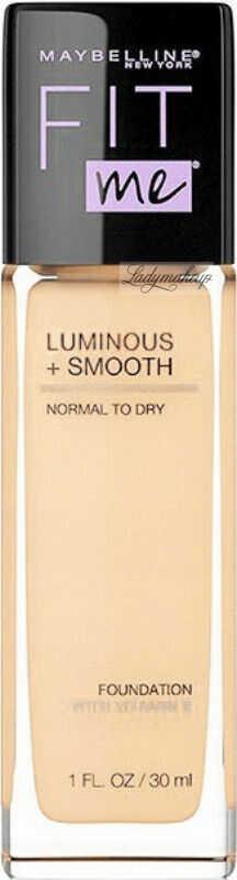 MYABELLINE - FIT ME - LUMINOUS + SMOOTH - Rozświetlający podkład do twarzy w płynie - SPF18 - 30 ml - 118 LIGHT BEIGE