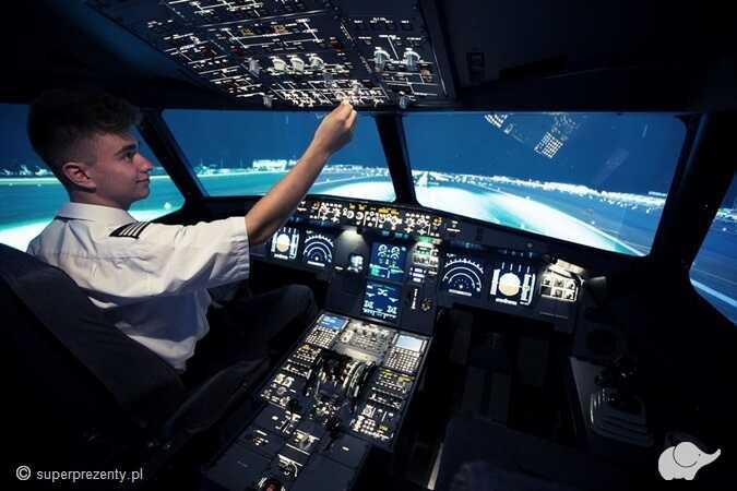 Symulator lotu- Airbus A320 w Warszawie