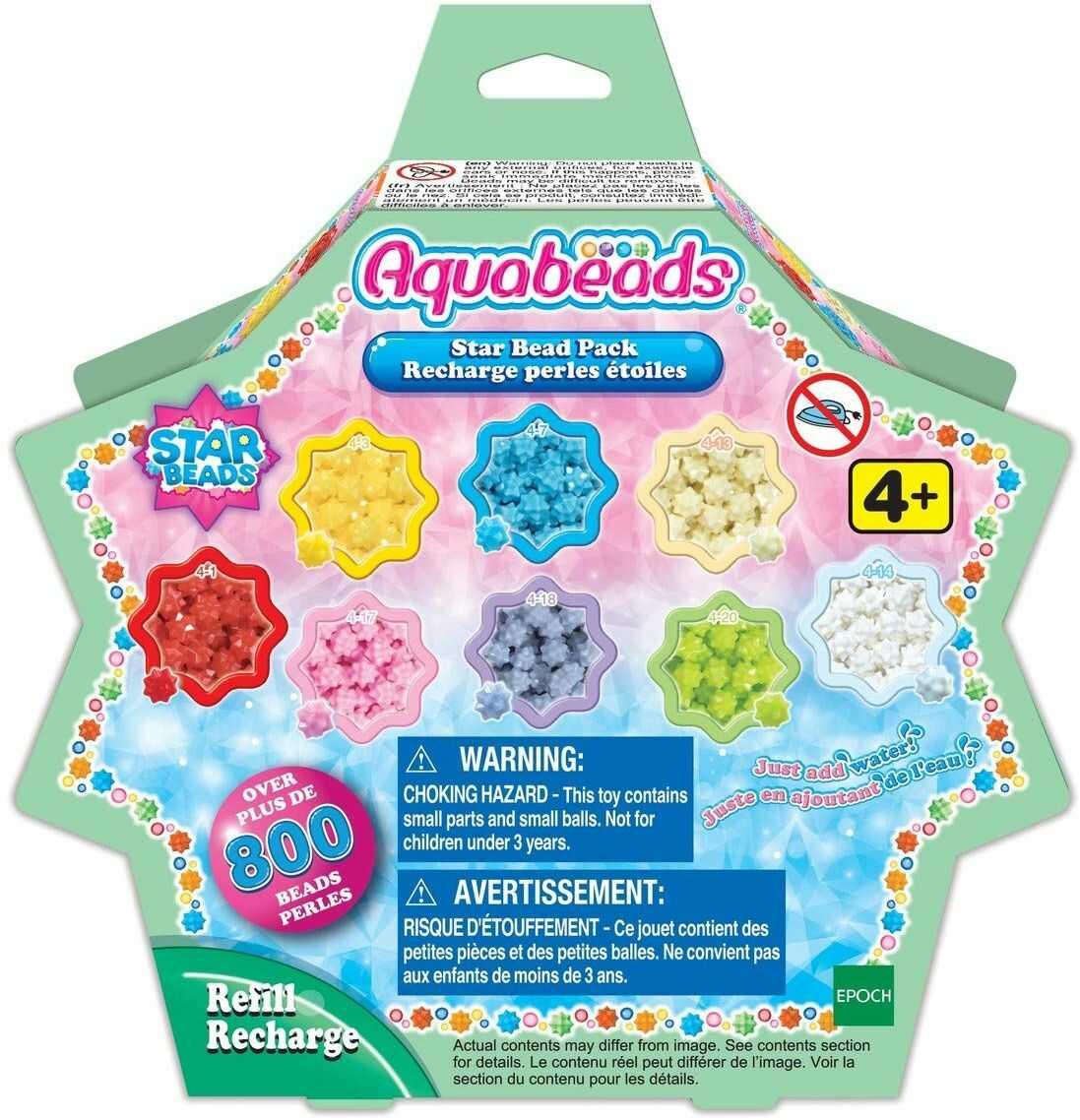 Aquabeads 31603 perły gwiazdkowe - zestaw uzupełniający