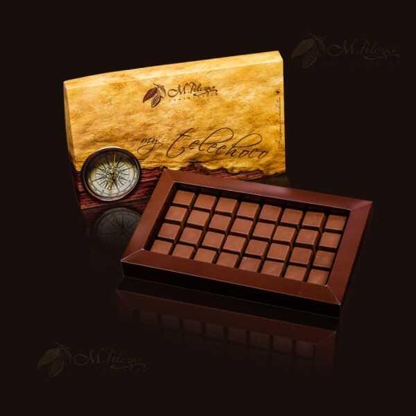 Opakowanie standardowe 8x4 (32 czekoladki)