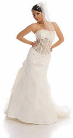 FSS511 Suknie Ślubne Suknia EKRI