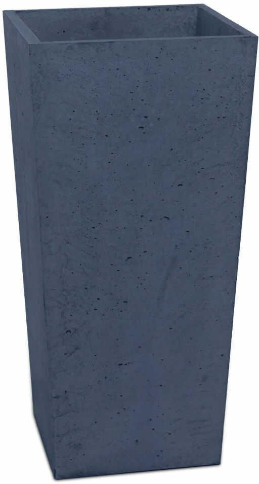 Donica betonowa CONE M 32x32x63 grafitowy