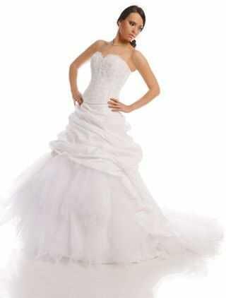FSS512 Suknie Ślubne Suknia BIAŁY