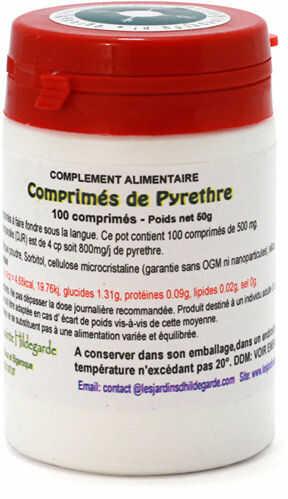 Przyprawy i zioła - Bertram tabletki 500mg/100 sztuk, - 21017