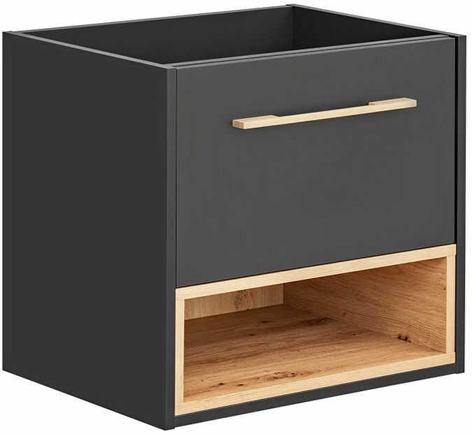Podwieszana szafka łazienkowa pod umywalkę - Ketris 3X 60 cm