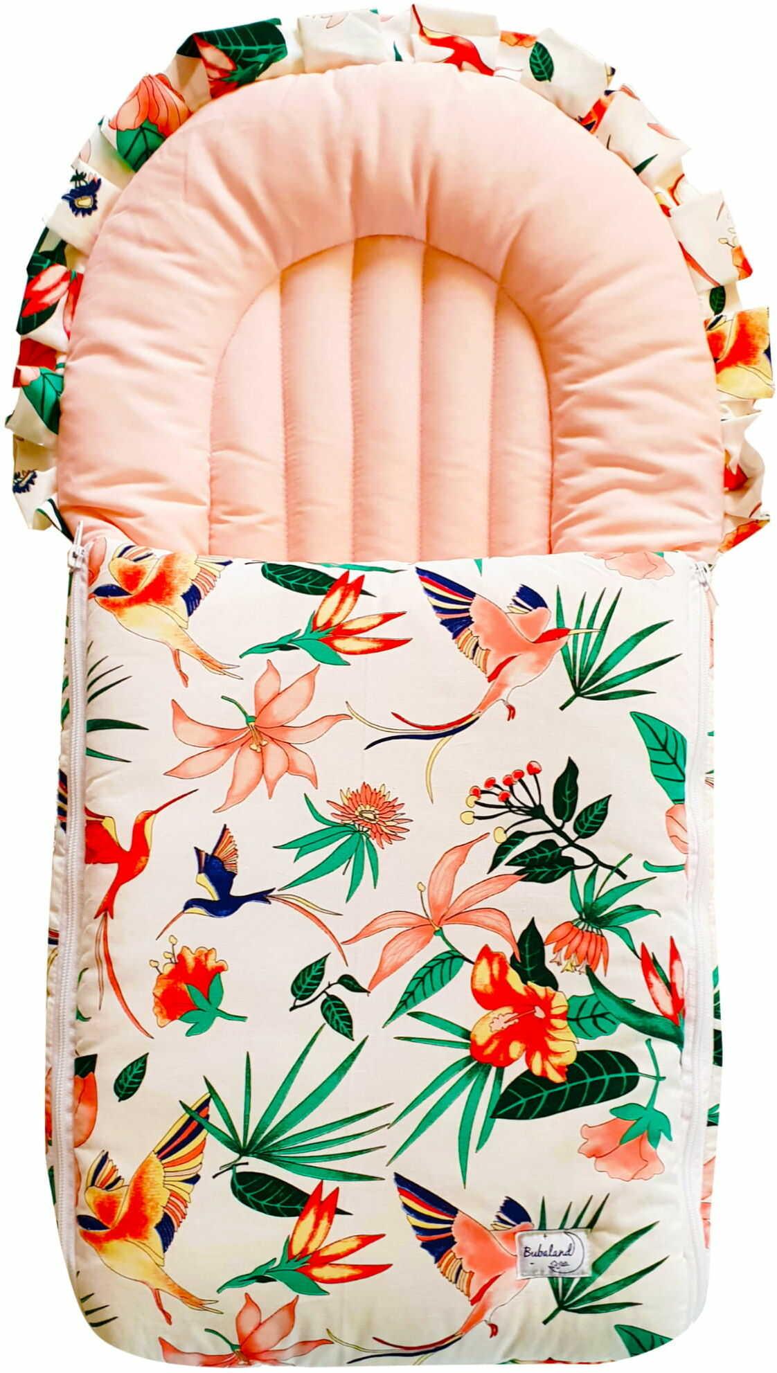 Rożek dla niemowlaka - becik dla dziecka Koliberki  100% bawełna