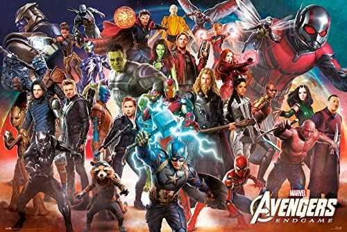 Marvel End plakat z gry 63 x 91,5 cm wielokolorowy