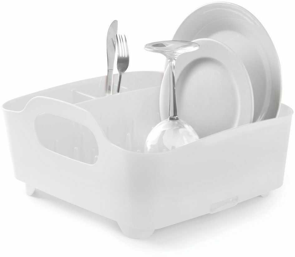 Umbra - ociekacz do naczyń tub - biały - biały