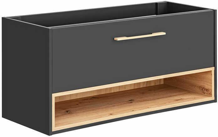 Podwieszana szafka łazienkowa pod umywalkę - Ketris 3X 120 cm
