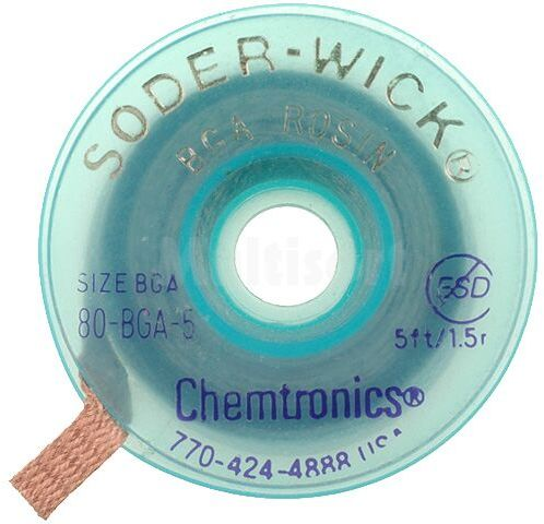 Taśma rozlutowująca CHEMTRONICS W:5,6mm L:1,5m