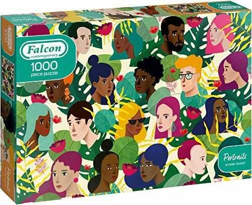 Falcon Nowoczesne 1000 elementów puzzli potraity