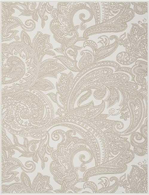 Biederlack Grand Paisley narzuta, mieszanka bawełny, naturalne odcienie, pojedyncza