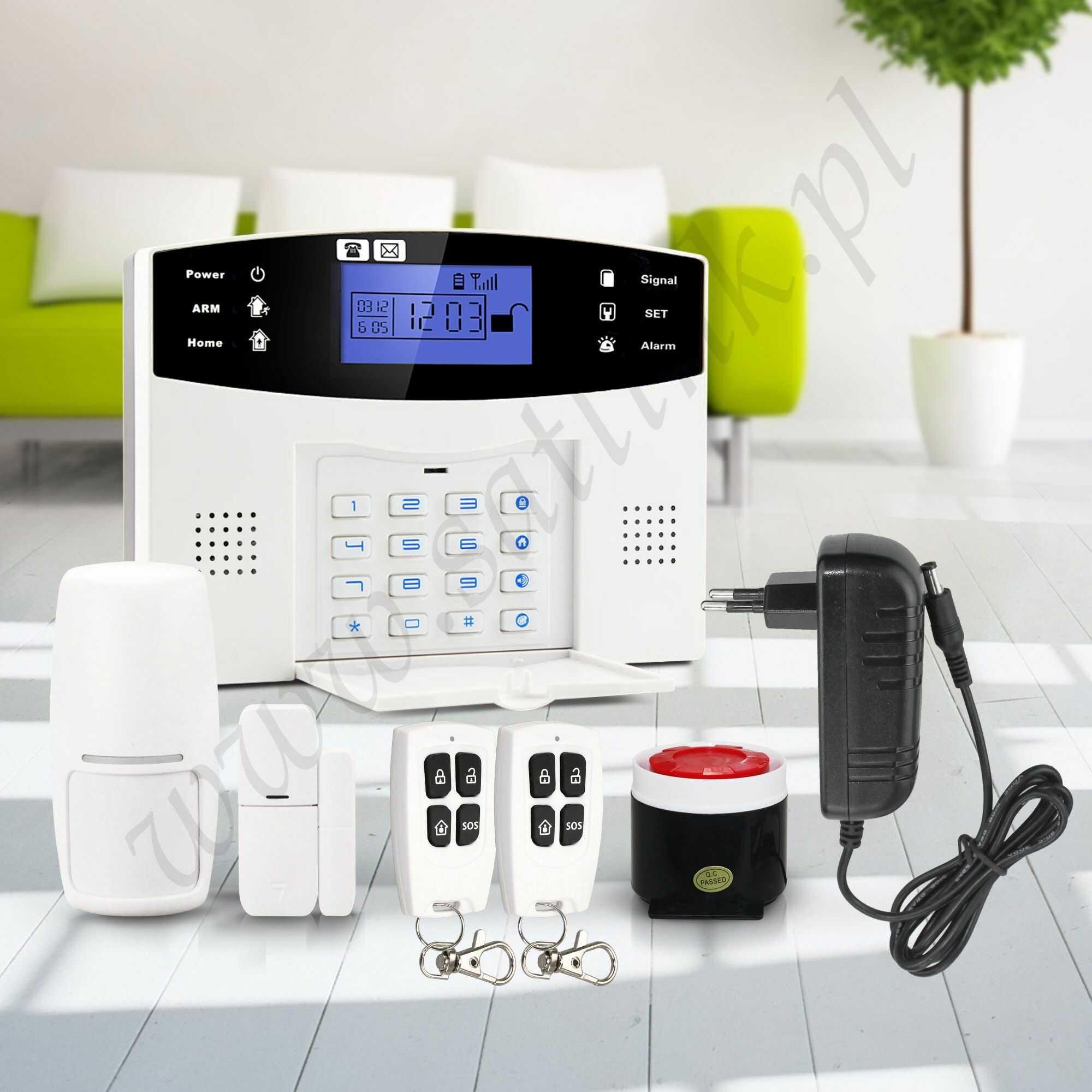Alarm bezprzewodowy SATLINK SL-GSM30A