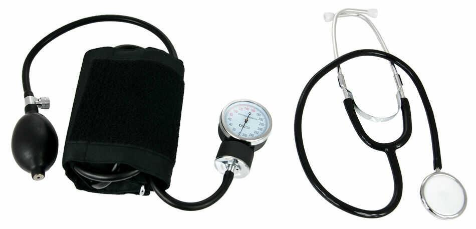 Ciśnieniomierz zegarowy ze stetoskopem HS-50A