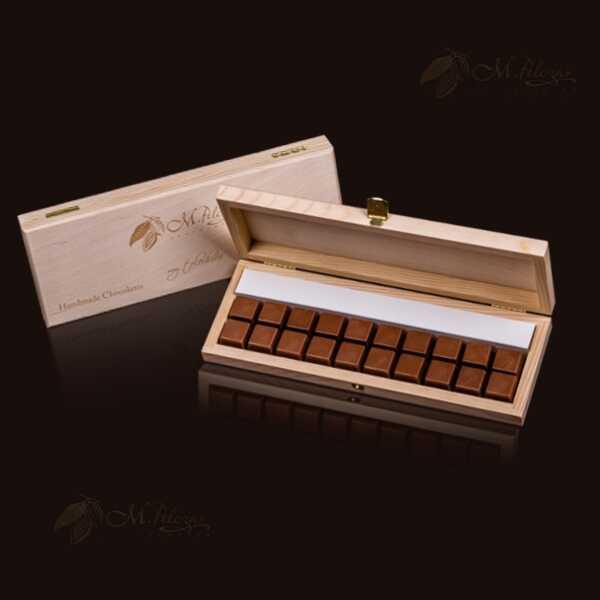 Drewniane 10x2 (20 czekoladek)