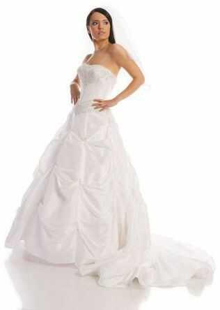 FSS523 Suknie Ślubne Suknia BIAŁY