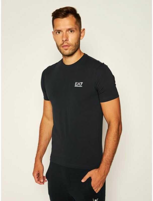 EA7 Emporio Armani T-Shirt 8NPT52 PJM5Z 1578 Granatowy Regular Fit