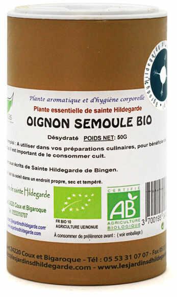 Przyprawy i zioła - Cebula suszona granulowana 50g BIO*, - 40182