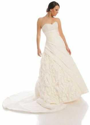 FSS524 Suknie Ślubne Suknia EKRI