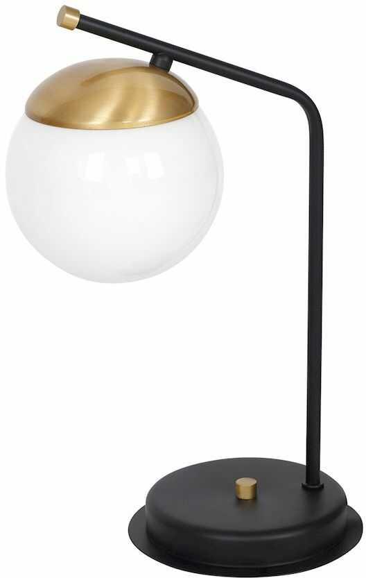 Milagro CARINA MLP4868 lampa stołowa szklana kula 1xE14 38cm