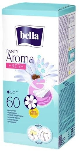 Bella Wkładki higieniczne Panty Aroma Fresh 60szt
