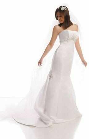 FSS525 Suknie Ślubne Suknia BIAŁY