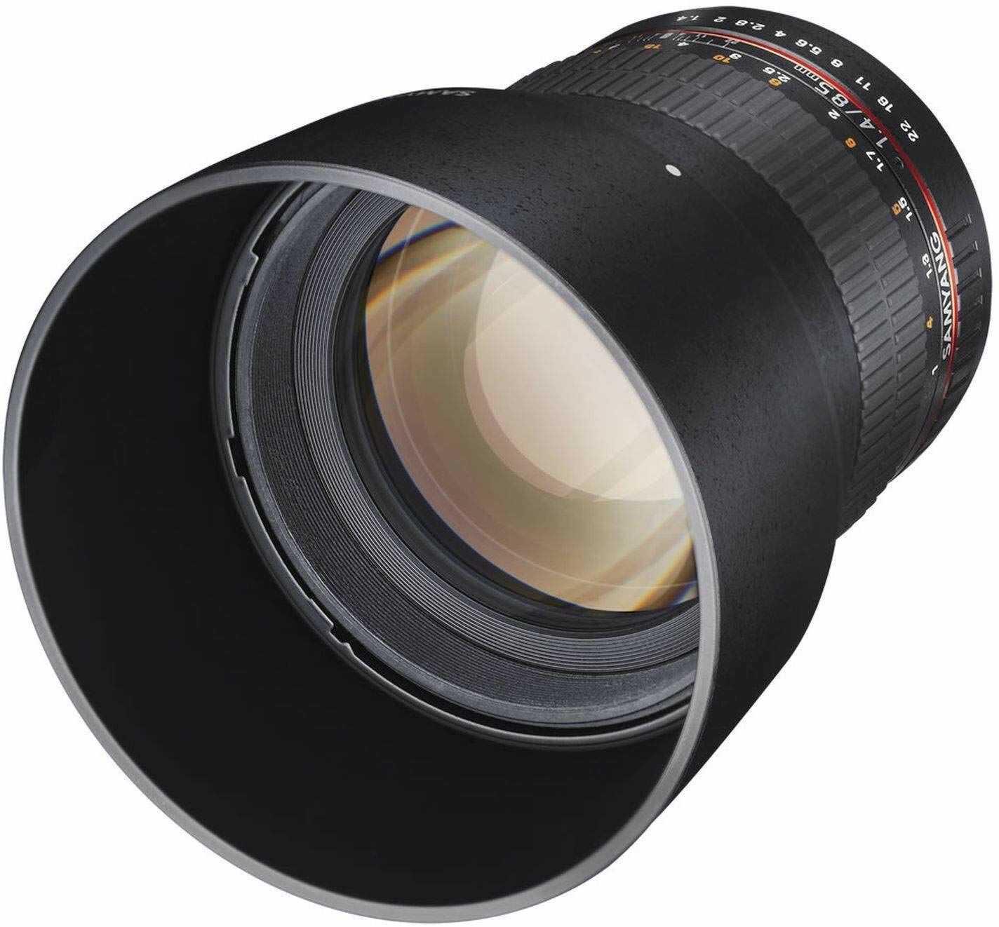 Samyang 85 mm F1.4 obiektyw do podłączenia Fuji X