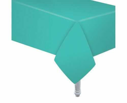 Obrus papierowy, jasno niebieski