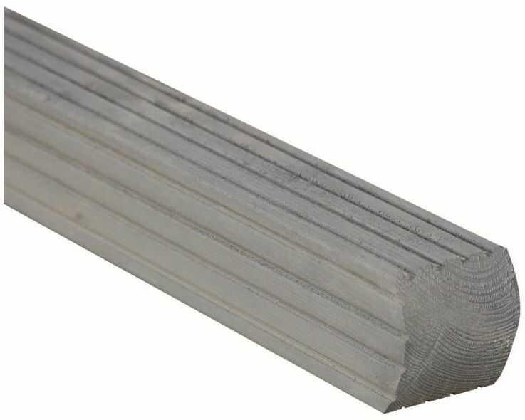 Kantówka drewniana 7x7x180 cm szara PARMA WERTH-HOLZ