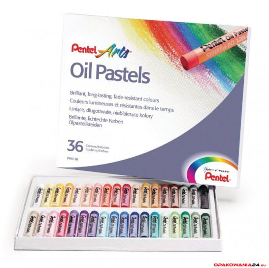 Pastele olejne 36 kolorów PHN-36 PENTEL